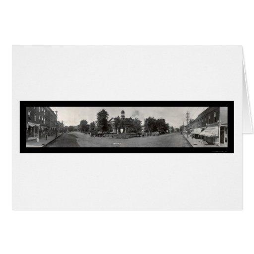 Newton, Iowa Photo 1907 Card