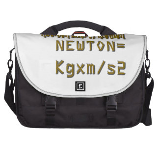 Newton law of motion commuter bag