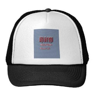 Newton Law of Motion Sweet Pattern Trucker Hat
