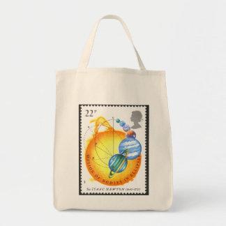 Newton Motion Bodies in Ellipses Canvas Bag