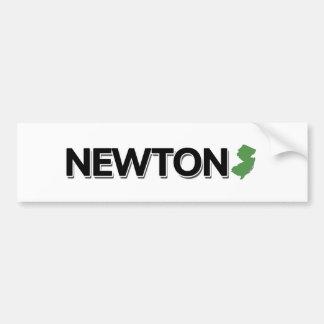 Newton, New Jersey Car Bumper Sticker