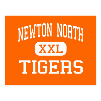 Newton North - Tigers - High - Newton Postcard
