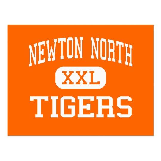 Newton North - Tigers - High - Newton Postcard
