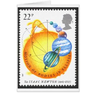 Newton Orbits Stationery Note Card