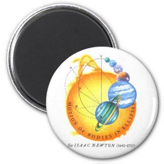 Newton Orbits 2 Inch Round Magnet