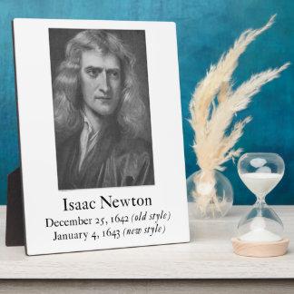 Newton Plaque