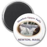 Newton Upper Falls Fridge Magnet