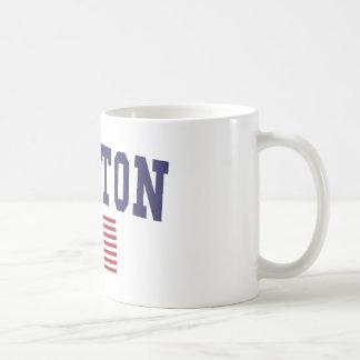 Newton US Flag Coffee Mug
