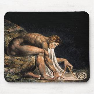 Newton William Blake Masonic Painting Mouse Pad