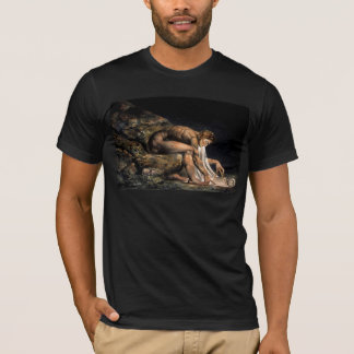 Newton William Blake Masonic Painting T-Shirt