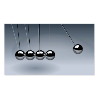 NEWTON'S CRADLE ~.jpg Double-Sided Standard Business Cards (Pack Of 100)