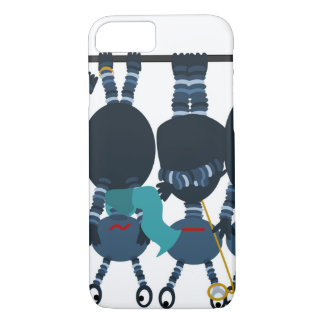 Newton's Cradle of Aliens iPhone 8/7 Case