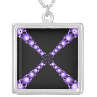 Newton's Electric X Necklace