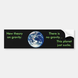 Newton's New Law Car Bumper Sticker