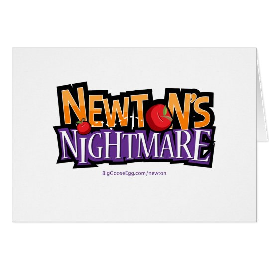 Newtons Nightmare Physics Game Gear Card
