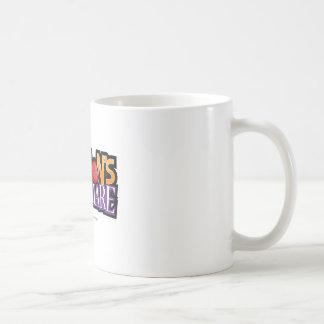 Newtons Nightmare Physics Game Gear Coffee Mug