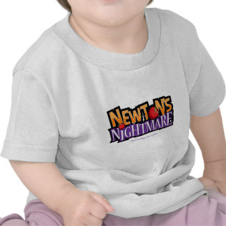 Newtons Nightmare Physics Game Gear T Shirt