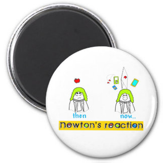 Newtons Reaction 2 Inch Round Magnet