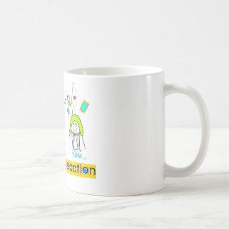 Newtons Reaction Coffee Mug