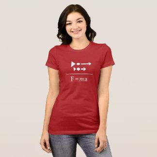 Newton's Second Law T-Shirt