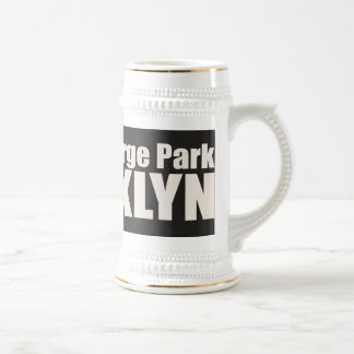 NEWTOWN BARGE Park Coffee Mugs