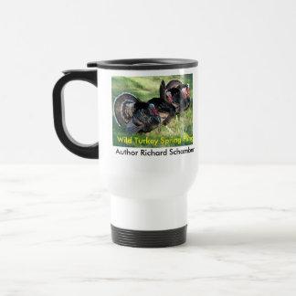 newturkeycup, newturkeycup, Wild Turkey Spring ... 15 Oz Stainless Steel Travel Mug