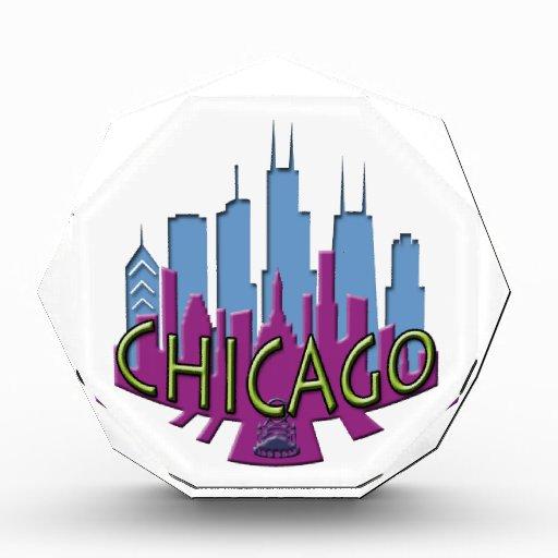 Newwave del horizonte de Chicago fresco