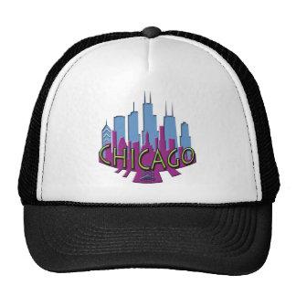Newwave del horizonte de Chicago fresco Gorros