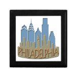 Newwave del horizonte de Philly con playas Cajas De Recuerdo
