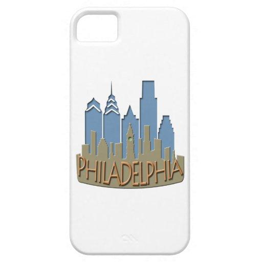 Newwave del horizonte de Philly con playas iPhone 5 Fundas