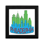 Newwave del horizonte de Philly primario Cajas De Regalo
