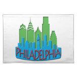 Newwave del horizonte de Philly primario Mantel