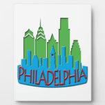 Newwave del horizonte de Philly primario Placa De Madera