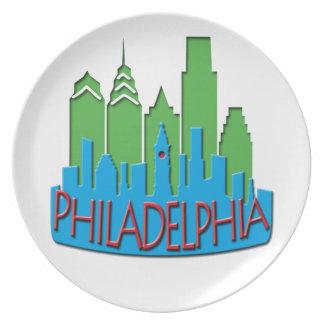 Newwave del horizonte de Philly primario Platos