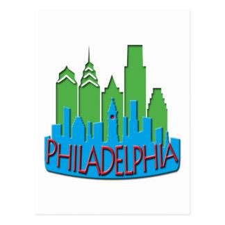 Newwave del horizonte de Philly primario Postales