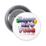 newyear2 copy pinback buttons