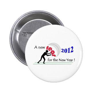 NewYearNewRear Pinback Button