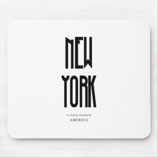 NewYork Coordinate Mouse Pad