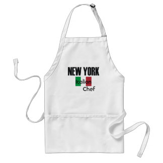 NewYork Italian Chef Adult Apron