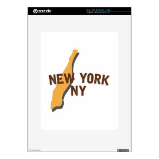 Newyork NY Decal For iPad