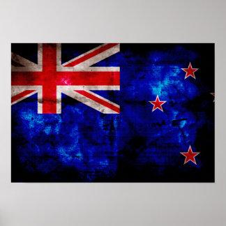 NewZealander Flag Print
