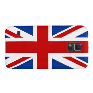 Nexo de la galaxia de Union Jack Samsung Funda De Galaxy S5
