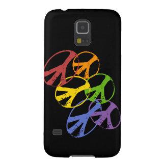 Nexo gay QPC de Samsung del símbolo de paz Funda Galaxy S5