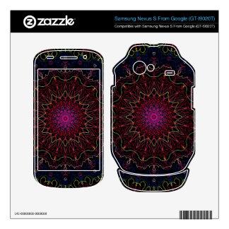 Nexo S del forSamsung de la piel de Zazzle del cal Skins Para Samsung Nexus S