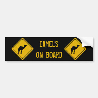 next 10 km camels bumper sticker