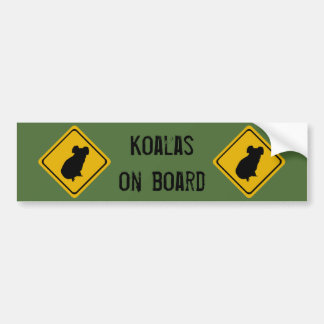 next 10 km koalas bumper sticker