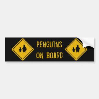 next 10 km penguins bumper sticker
