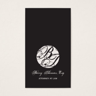 Next Appointment Cards, monogram DIY color Business Card