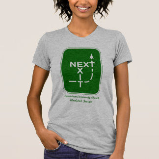 Next Exit Cornerstone Logo T-Shirt