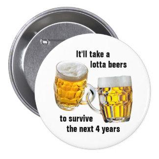 Next Four Years Pinback Button